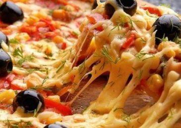 طريقة عمل البيتزا فتكات Cook Torta