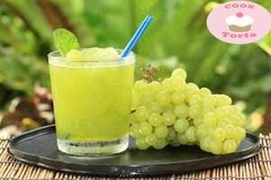 اسهلطريقة عمل عصير العنب في البيت