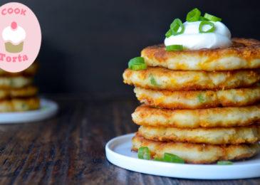 اسهل طريقة لعمل بان كيك بطاطس في المنزل
