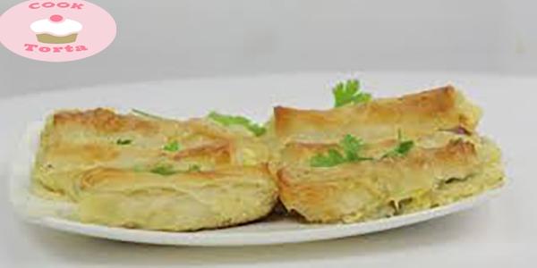 احسن طريقة عمل صينية جلاش بالبسطرمة و الجبن