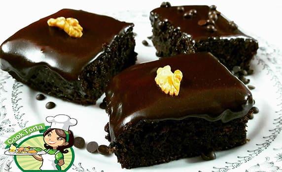 طريقة عمل الجاتوه بالشوكولاته